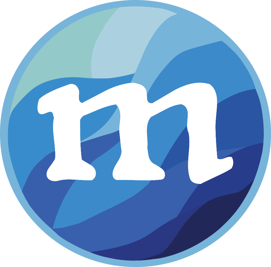 Mermaids Monthly Round Logo